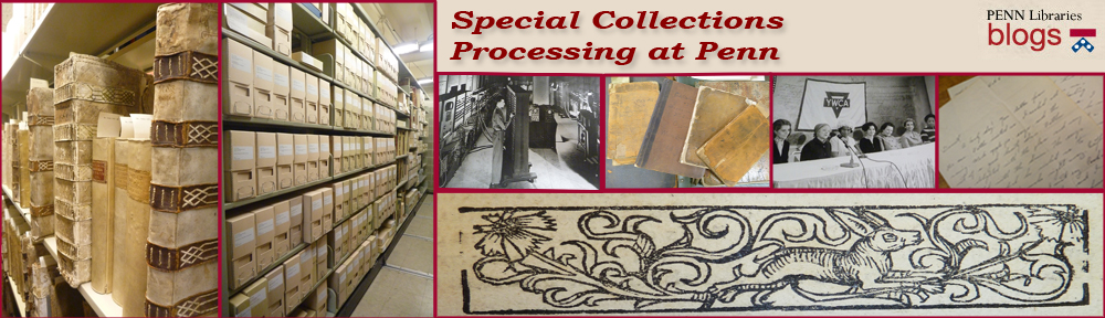 Special Collections Cataloging at Penn