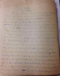 Topper Manuscript Page