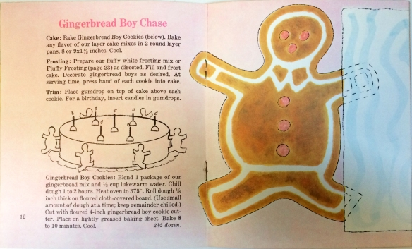 Recipe and image from Betty Crocker's Cakes Kids Love, 1969
