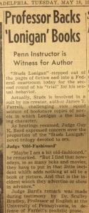 Professor Back 'Lonigan' Books