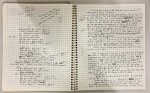 Manuscript notebook for My Life in CIA