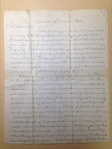 William Jay letter to Frederick Beasley