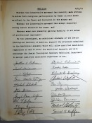 Petition to allow the ordination of female Rabbis within the Conservative branch of Judaism, 1977