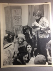 Purim at Havurat Shalom, by photographer Jeff Green