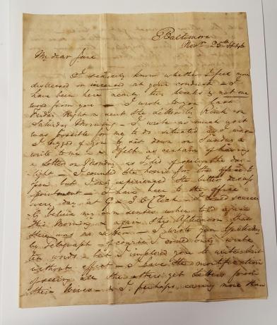 cunnington-letter