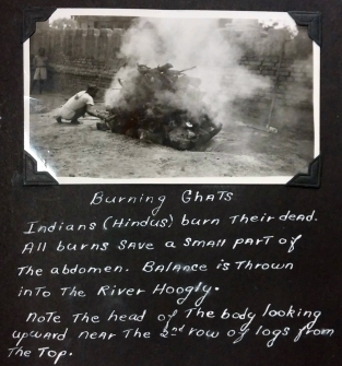 India burning ghat