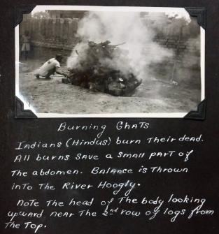 India burning ghat