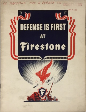 """Defense is First at Firestone (box 1, folder 1)"
