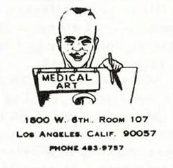 Advertisement for Eichner's California studio