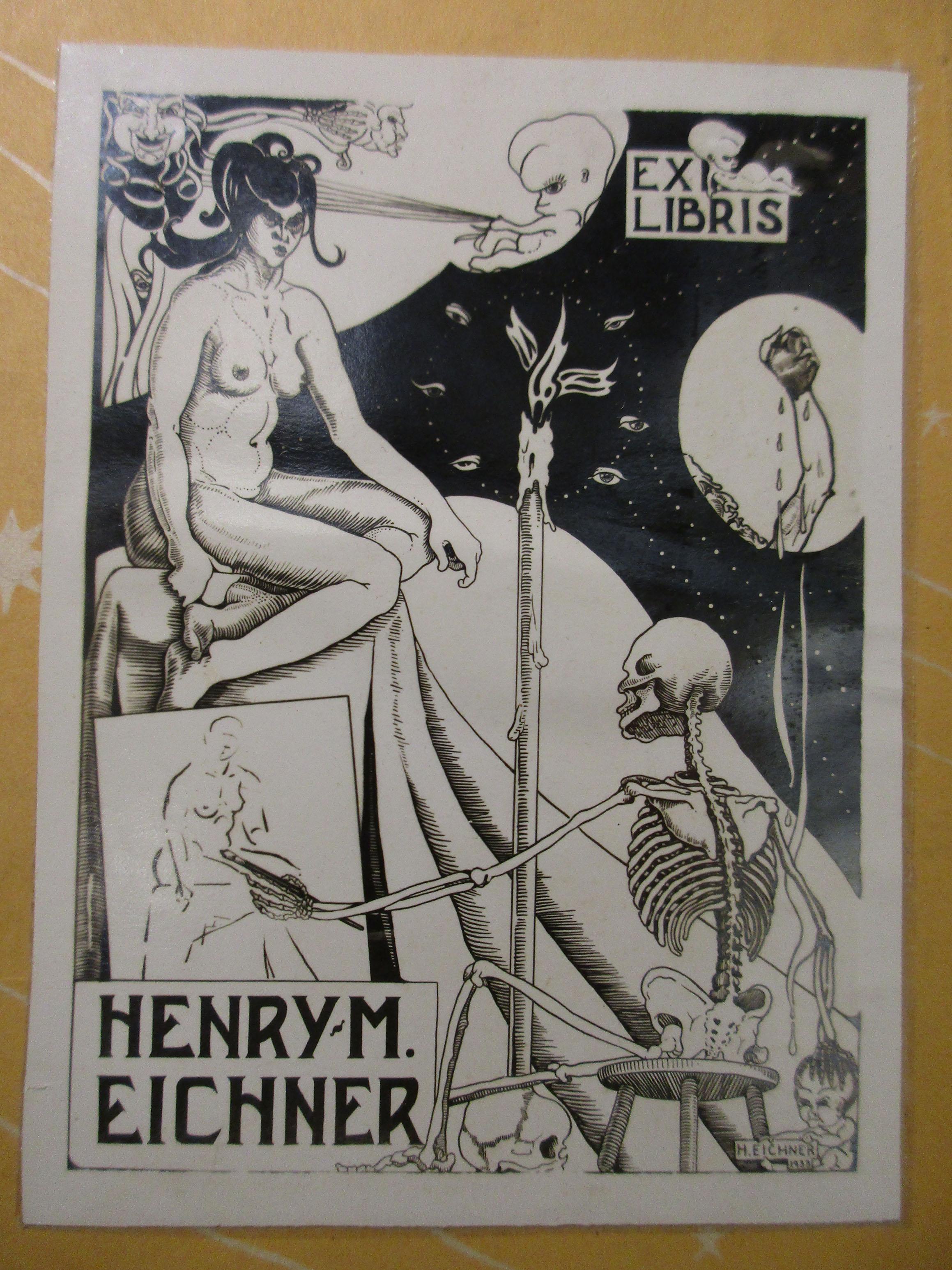 Bookplate of Henry M. Eichner (1933)